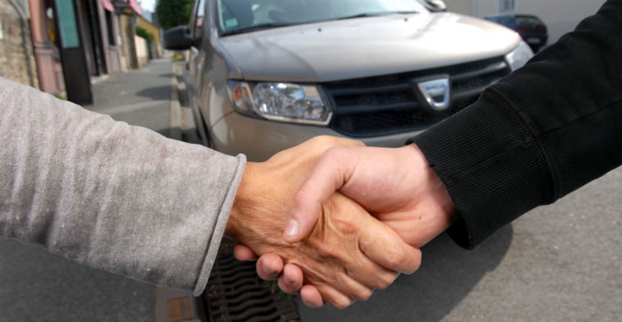 Changer pneu vente voiture