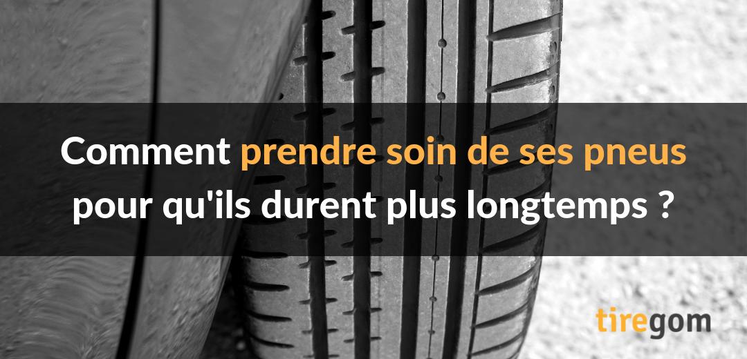 Prendre soin pneu