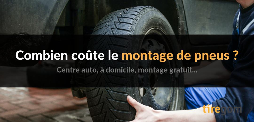 Tarif montage pneu