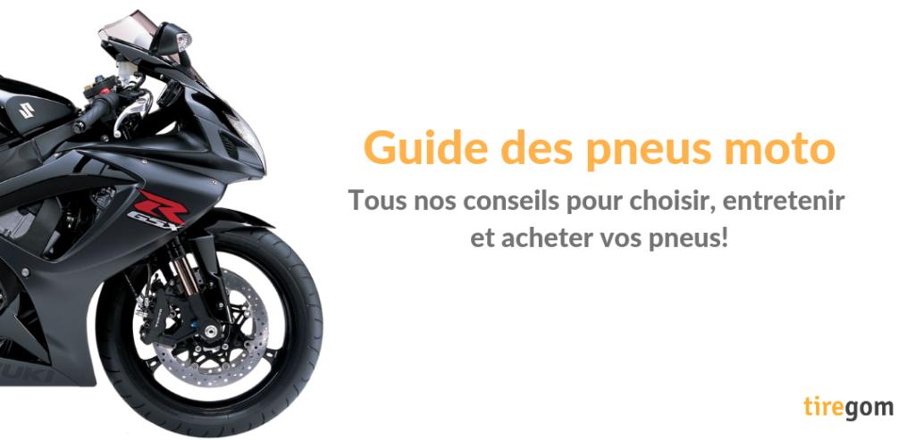 Conseils d'expert sur le pneu moto