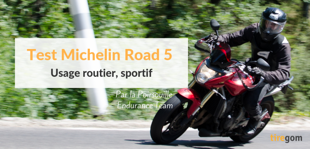 Pneu Road 5 Michelin moto