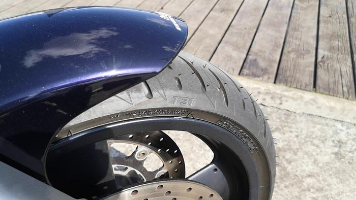 Témoignage pneu Battlax T31 Bridgestone
