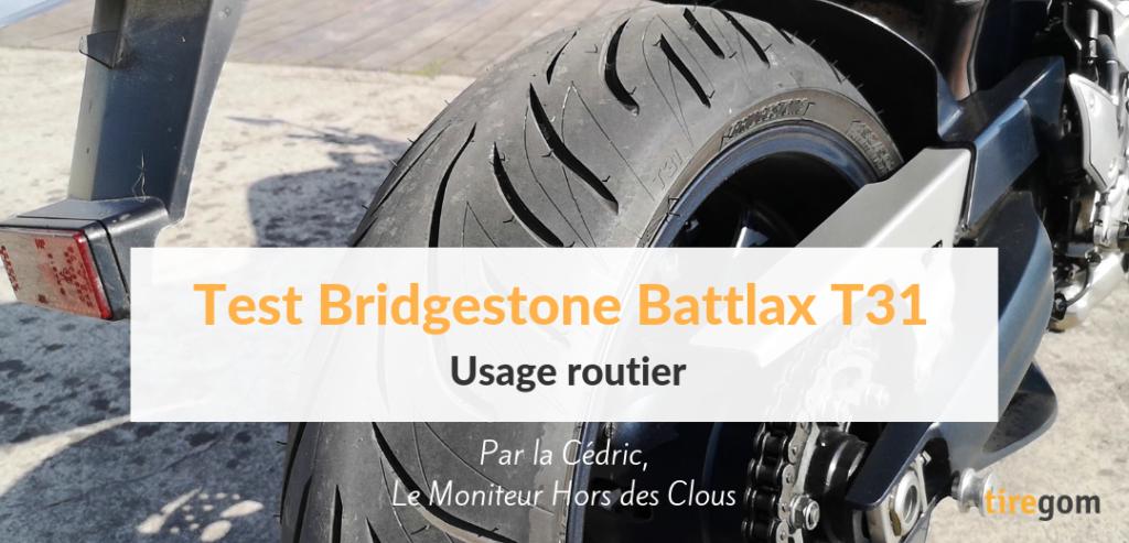Avis et retour d'expérience sur le pneu moto Battlax T31