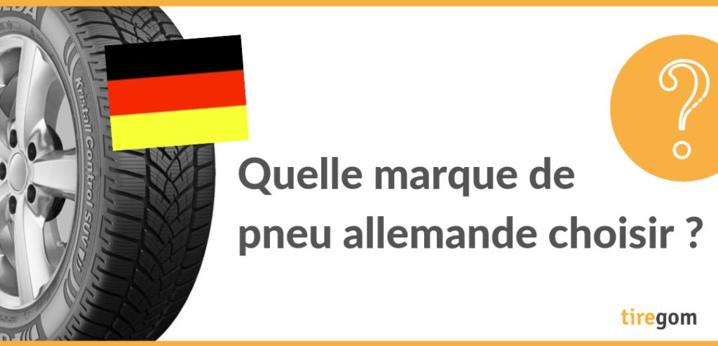 Marques allemandes de pneumatiques