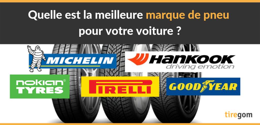 Les meilleures marques de pneus auto