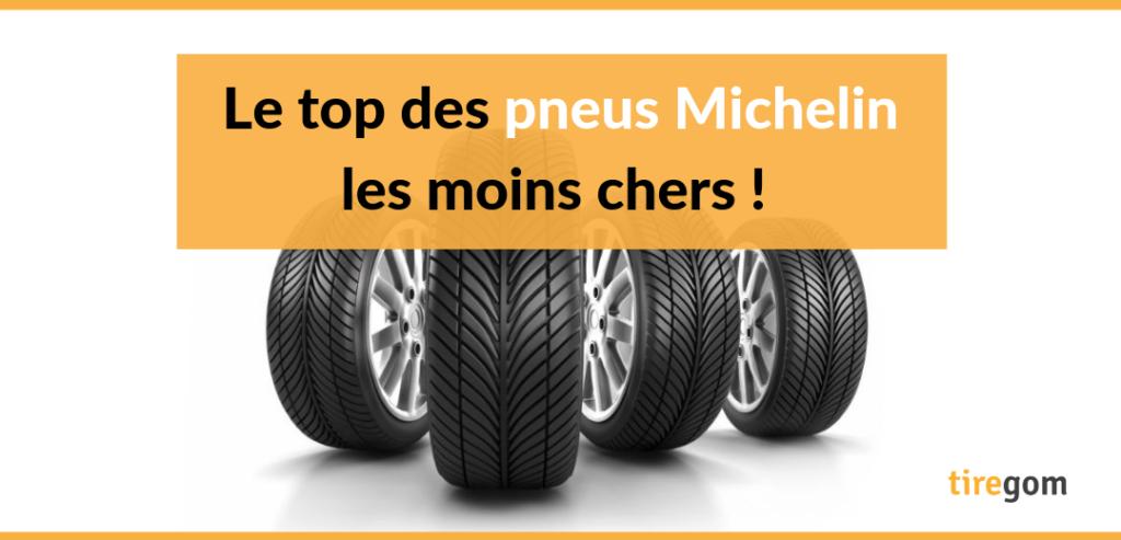 Acheter des pneus Michelin discount