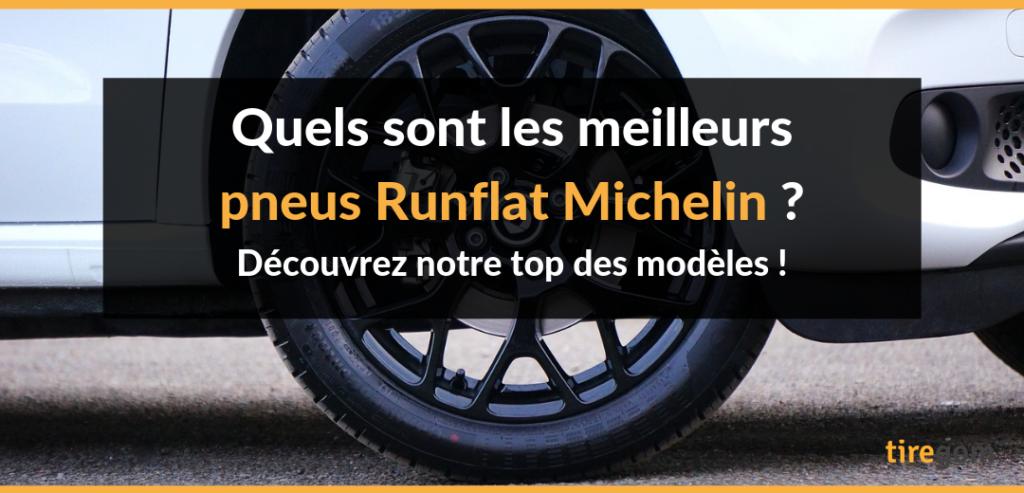 Pneu Michelin ZP roulage à plat