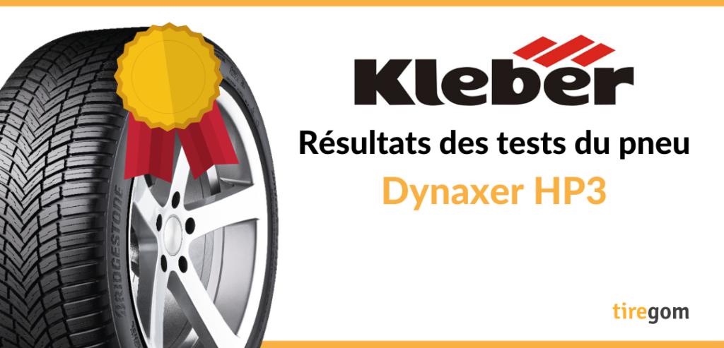 Essai comparatif pneu kleber dynaxer HP3