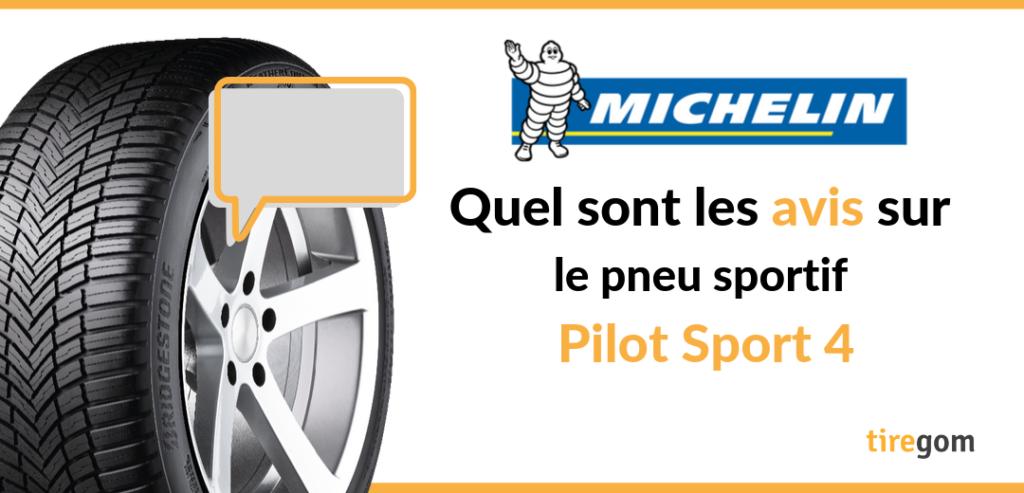 Avis pneu Michelin PS4