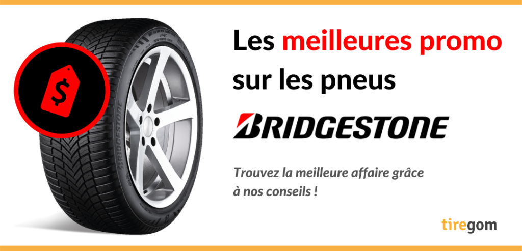 Acheter un pneu Bridgestone en promotion